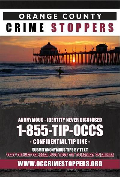 OC Crime Stoppers Flyer