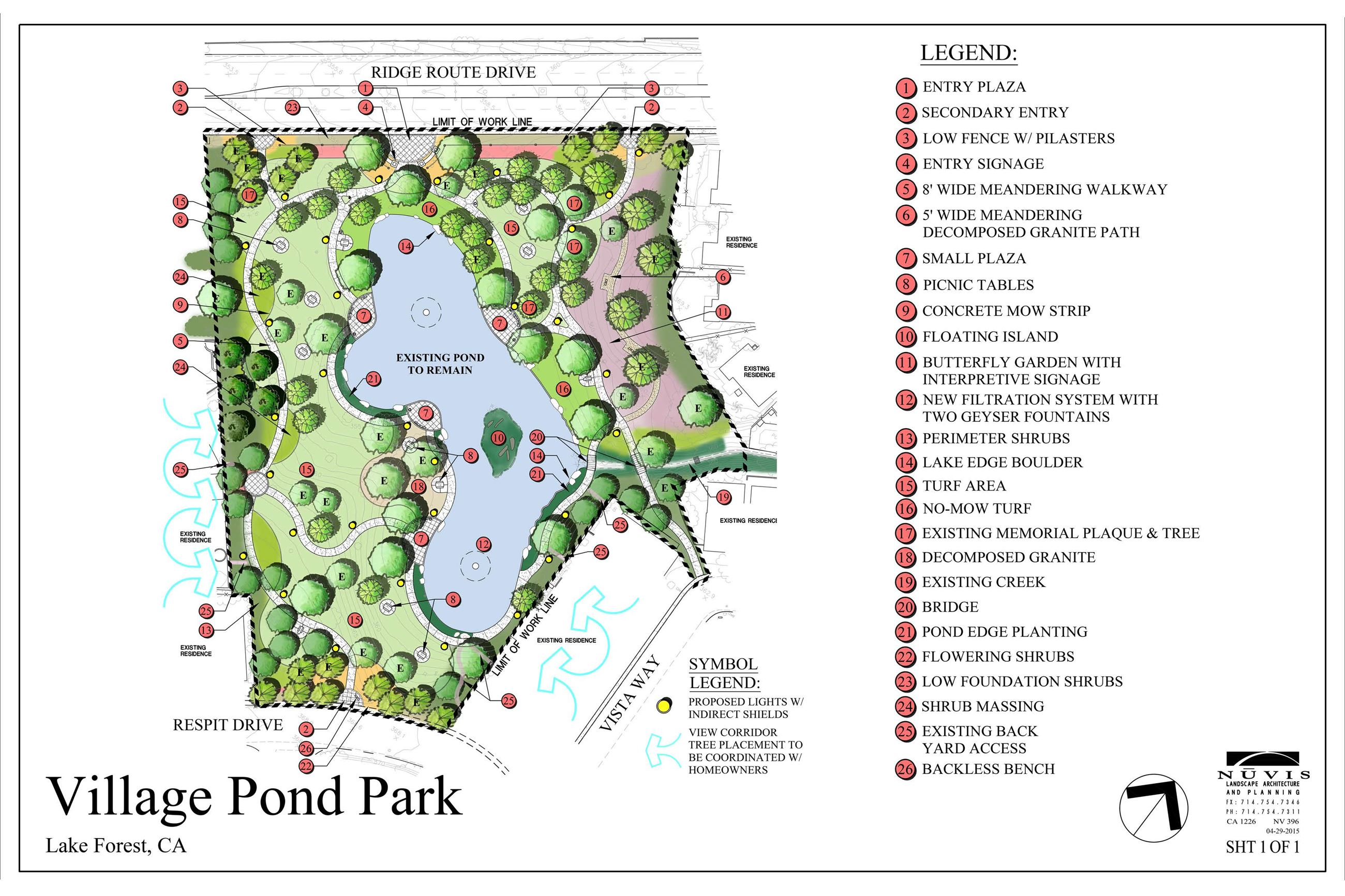 Village Pond Park Final Design